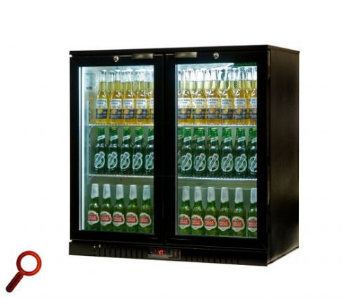Genfrost GBB2H Hinged Door Back Bar Cooler